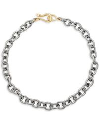 Shoshanna - Snake Choker Necklace - Lyst