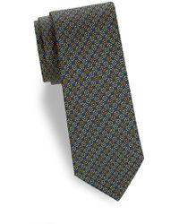 Saks Fifth Avenue - Alternate Floral Silk Tie - Lyst