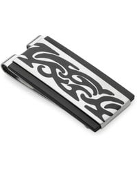Lotus - Two-tone Stainless Steel Money Clip - Lyst