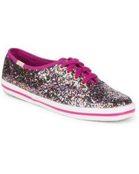 Keds - Kate Spade Glitter Trainers - Lyst