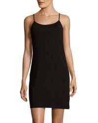 Saks Fifth Avenue Black - Basic Slip Camisole - Lyst