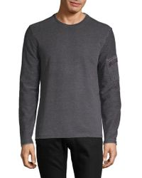 John Varvatos - Classic Long-sleeve Sweater - Lyst