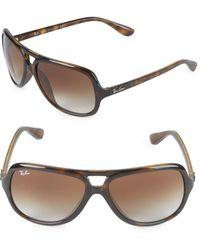 Ray-Ban - 59mm Pilot Sunglasses - Lyst