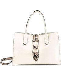 Sam Edelman - Top Handle Leather Satchel - Lyst