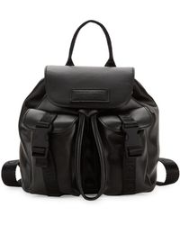 Kendall + Kylie - Mini Poppy Faux Leather Backpack - Lyst