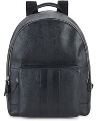 Cole Haan - Pebbled Leather Backpack - Lyst