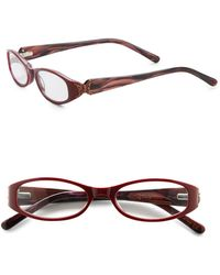 Judith Leiber Couture - 51mm Oval Optical Readers - Lyst