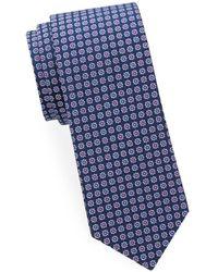 Saks Fifth Avenue - Floral-print Silk Tie - Lyst