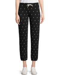 Monrow - Lightning Cropped Pants - Lyst