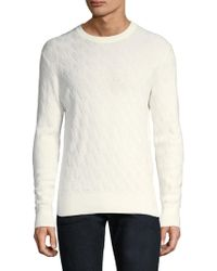 J.Lindeberg - Herringbone Cotton Sweater - Lyst
