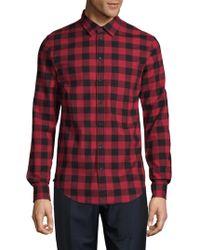 Zadig & Voltaire - Sigfried Plaid Flannel Button-down Shirt - Lyst