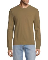 Valentino - Crewneck Jersey Sweater - Lyst