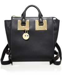 Sophie Hulme - Small Holmes Leather Backpack - Lyst