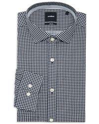 Strellson Circile Print Dress Shirt - Blue
