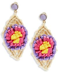 RED Valentino - Multicolored Dangle & Drop Earrings - Lyst