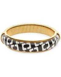 Diane von Furstenberg - Chain Link Bangle Bracelet - Lyst