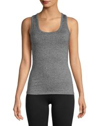 Electric Yoga - Lace-up Stretch Tank Top - Lyst