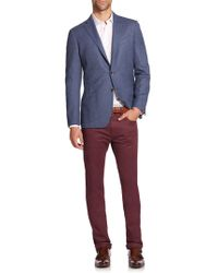 Saks Fifth Avenue | Collection Three-button Wool Sportcoat | Lyst