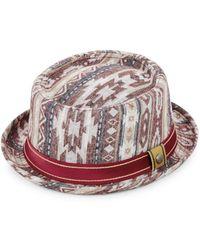 Robert Graham | Arizona Printed Cotton Pork Pie Hat | Lyst
