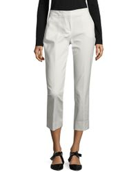 Vince Camuto - Solid Ankle-length Trousers - Lyst