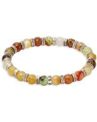 Perepaix - Multi-color Agate Beaded Bracelet - Lyst