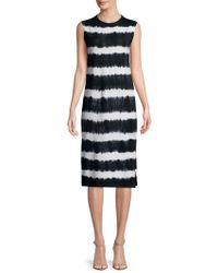 C&C California - Tie Dyed Knee-length Dress - Lyst