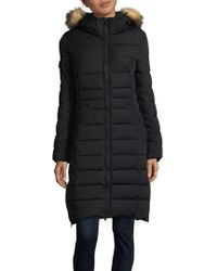 Pajar - Ventura Fox Fur-trimmed Mid-length Puffer Coat - Lyst