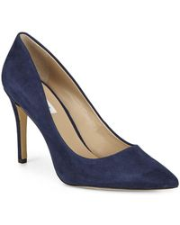 Saks Fifth Avenue - Cady Suede Pumps - Lyst