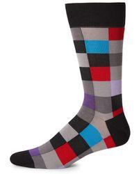 Bugatchi - Classic Multi-colored Socks - Lyst