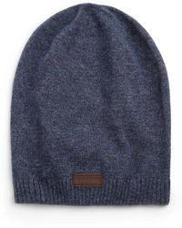 True Religion - Knit Slouchy Beanie - Lyst