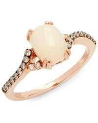 Le Vian - Chocolatier Neopolitan Opal & 14k Strawberry Gold Ring - Lyst