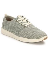 TOMS - Del Rey Textured Trainers - Lyst