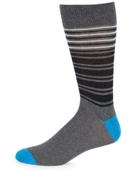 Saks Fifth Avenue - Classic Striped Socks - Lyst