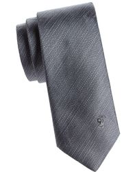 Versace - Textured Striped Silk Tie - Lyst
