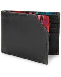 Robert Graham - Brighton Slim Leather Bi-fold Wallet - Lyst