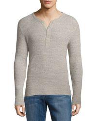 Ralph Lauren - Heathered Cotton Sweatshirt - Lyst