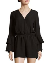 Saks Fifth Avenue - Bell Sleeve Romper - Lyst