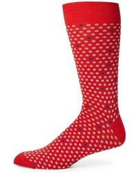 Saks Fifth Avenue - Collection Dot Design Socks - Lyst
