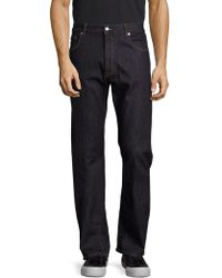 Façonnable - Solid Bootcut Jeans - Lyst