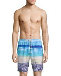 Sovereign Code - Graphic Swim Shorts - Lyst