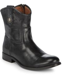 Frye - Melissa Button Leather Boots - Lyst