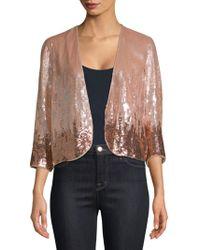 Parker - Sequin Jacket - Lyst