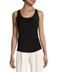 Carolina Herrera - Silk Tank Top - Lyst
