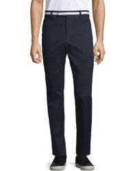 G/FORE - Striped-waist Skinny Trousers - Lyst