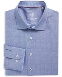 Bugatchi - Woven Cotton Dress Shirt - Lyst