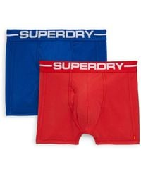 Superdry - 2-pack Sports Boxer Shorts - Lyst