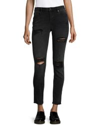 Vigoss - Distressed Skinny Jeans - Lyst