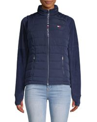 Tommy Hilfiger - Quilted Puffer Vest - Lyst