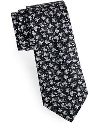 Saks Fifth Avenue - Boxed Playful Floral Silk Tie - Lyst