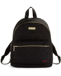 Peace Love World - Star-quilted Backpack - Lyst